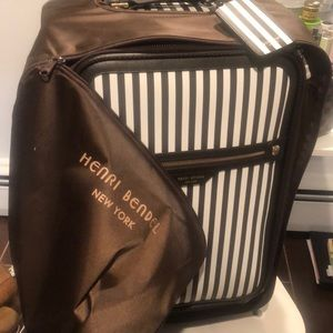 NWT RARE! HENRI BENDEL CENTENNIAL Rolling Luggage!